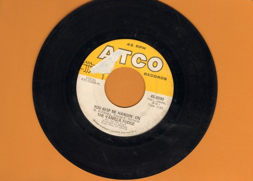 Vanilla Fudge - You Keep Me Hangin' On/Come By Day, Come By Night (bb) - VG7/ - 45 rpm Records