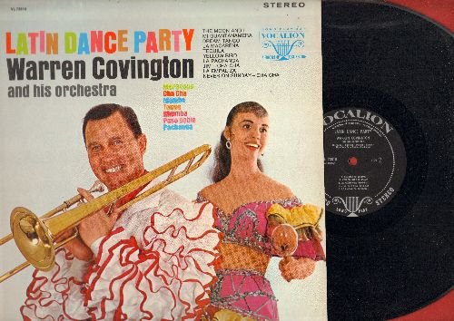 Covington, Warren & His Orchestra - Latin Dance Party: Tequila, Dream Tango, La Macarena, Never On Sunday Cha Cha, Mi Guantanamera (vinyl STEREO LP record) - NM9/NM9 - LP Records