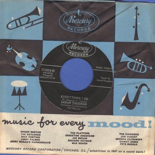 Vaughan, Sarah - I Ain't Hurtin'/Everything I Do - NM9/ - 45 rpm Records