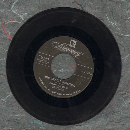 Vaughan, Sarah - Make Yourself Comfortable/Idle Gossip - VG7/ - 45 rpm Records