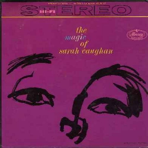 Vaughan, Sarah - The Magic Of Sarah Vaughan: That Old Black Magic, Broken Hearted Melody, Sweet Affection, Separate Ways, Careless, Don't Look At Me That Way (Vinyl STEREO LP record) - EX8/EX8 - LP Records