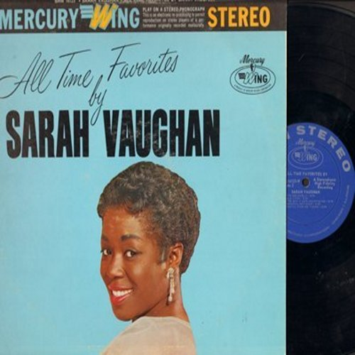 Vaughan, Sarah - All Time Favorites: My Funny Valentine, If I Loved You, It's Delovely, Old Love (Vinyl STEREO LP record) - EX8/VG6 - LP Records