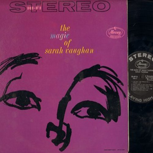 Vaughan, Sarah - The Magic Of Sarah Vaughan: That Old Black Magic, Broken Hearted Melody, Sweet Affection, Separate Ways, Careless, Don't Look At Me That Way (Vinyl STEREO LP record, NICE condition!) - NM9/NM9 - LP Records