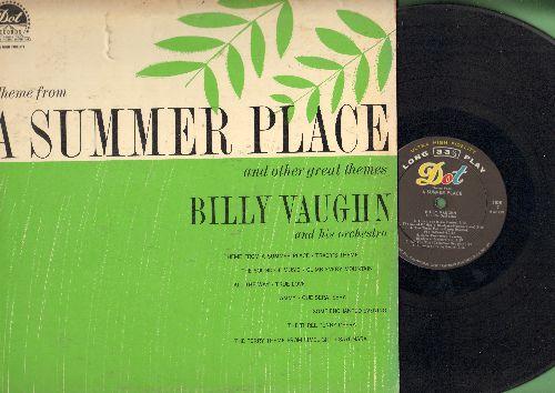 Vaughn, Billy - Theme Drom A Summer Place: True Love, Tammy, Sayonara, Tclimb Every Mountain, Que Sera Sera (Vinyl MONO LP records) - EX8/VG7 - LP Records