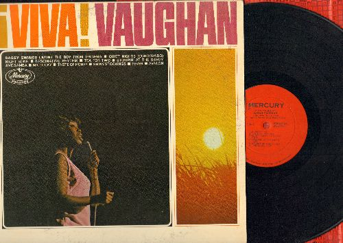 Vaughan, Sarah - Viva Vaughan: The Boy From Ipanema, Fascinating Rhythm, Fever, Avalon, Tea For Two (Vinyl MONO LP record) - VG7/EX8 - LP Records