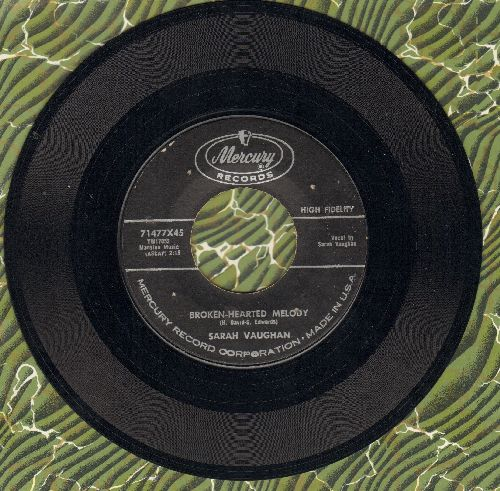 Vaughan, Sarah - Broken-Hearted Melody/Misty  - EX8/ - 45 rpm Records
