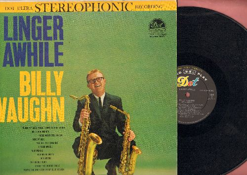 Vaughn, Billy - Linger Awhile: You Are My Sunshine, The Huckle Buck, Red River Valley, Side By Side (vinyl STEREO LP record) - EX8/EX8 - LP Records