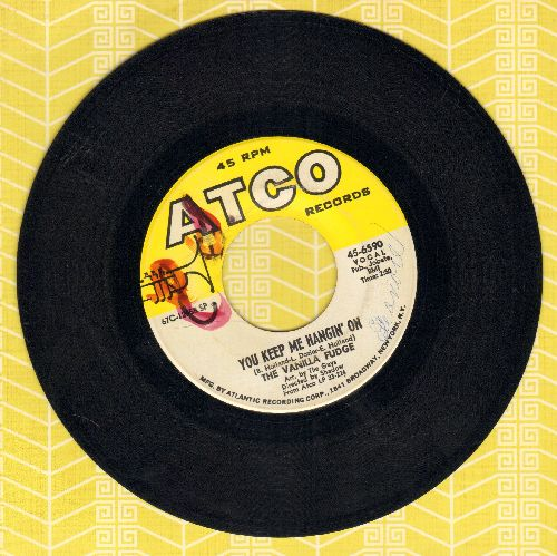 Vanilla Fudge - You Keep Me Hangin' On/Come By Day, Come By Night (wol) - EX8/ - 45 rpm Records