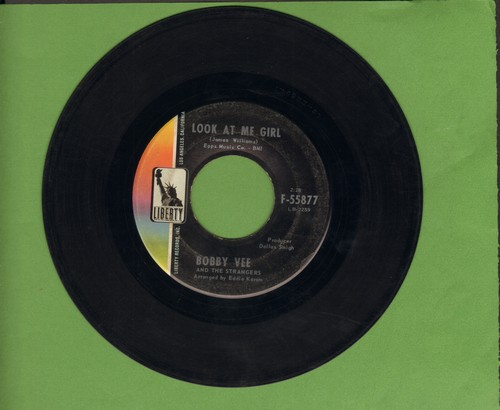 Vee, Bobby - Look At Me Girl/Save A Love - EX8/ - 45 rpm Records
