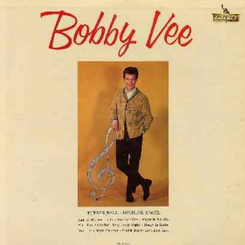Vee, Bobby - Bobby Vee: Rubber Ball, Devil Or Angel, Talk To Me, One Last Kiss, More Than I Can Say, Poetry In Motion, Mister Sandman (Vinyl MONO LP record) - EX8/VG7 - LP Records