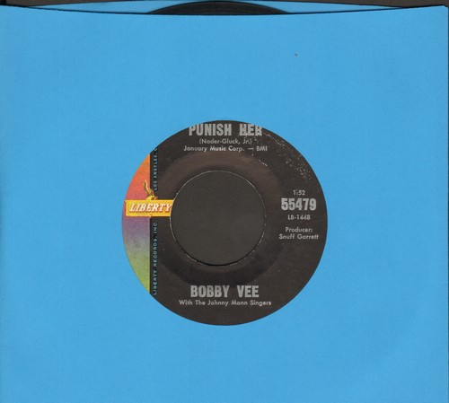 Vee, Bobby - Punish Her/Someday  - NM9/ - 45 rpm Records