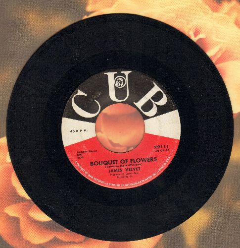 Vlevet, James - Bouquet Of Flowers/When I Needed You - VG7/ - 45 rpm Records