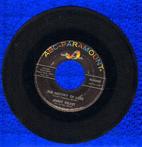 Velvet, Jimmy - The History Of Love (FANTASTIC Vintage Teen Idol Sound!)/We Belong Together - VG7/ - 45 rpm Records