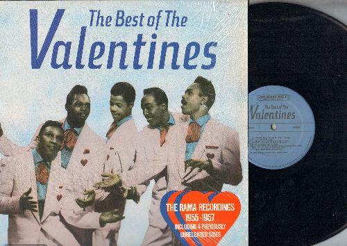 Valentines - The Best Of The Valentines: Lily Maebelle, Don't Say Goodnight, Hand Me Down Love, My Story Of Love (vinyl LP record, 1986 re-issue of vintage Doo-Wop recordings) - NM9/ - LP Records