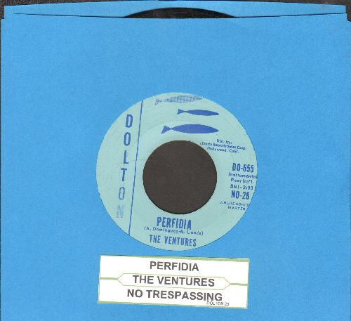 Ventures - Perfidia/No Trespassing (with juke box label) - NM9/ - 45 rpm Records