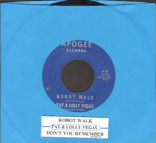 Vegas, Pat & Lolly - Robot Walk/Don't You Remember (RARE Vintage Funk/Soul 2-sider with juke box lable)(bb) - VG7/ - 45 rpm Records