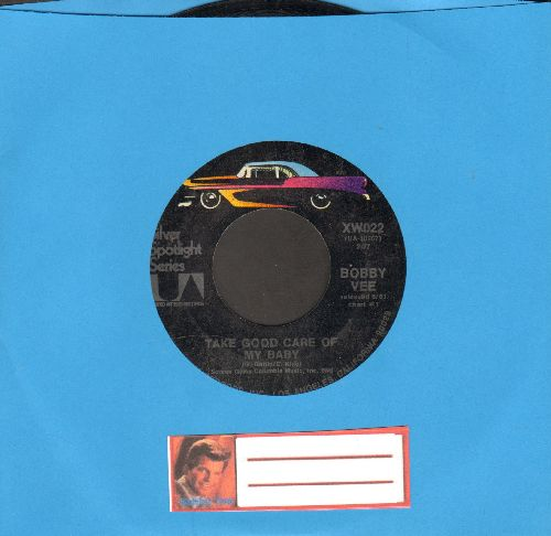 Vee, Bobby - Take Good Care Of My Baby/Please Don't Ask About Barbara (re-issue) - VG7/ - 45 rpm Records