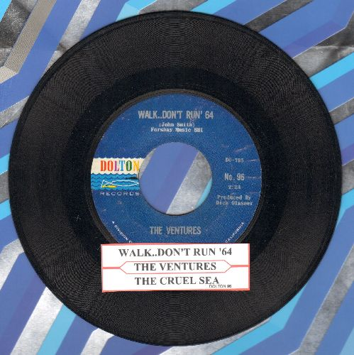 Ventures - Walk--Don't Run '64/The Cruel Sea (with juke box label) - NM9/ - 45 rpm Records