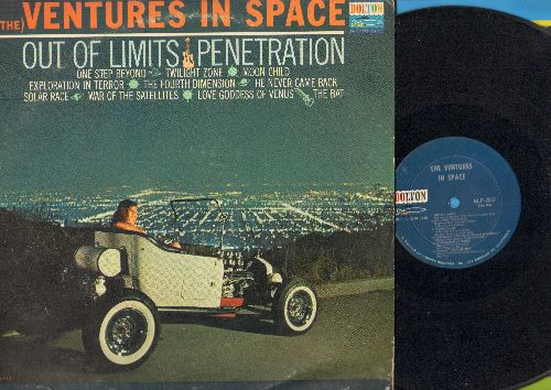 Ventures - The Ventures In Space: Out Of Limits, Penetration, One Step Beyond, Twilight Zone, The Bat (Vinyl MONO LP record) - VG7/VG7 - LP Records