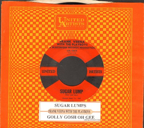 Verna, Frank - Sugar Lump/Golly Gosh Oh Gee (with juke box label and vintage United Artists company sleeve) - EX8/ - 45 rpm Records