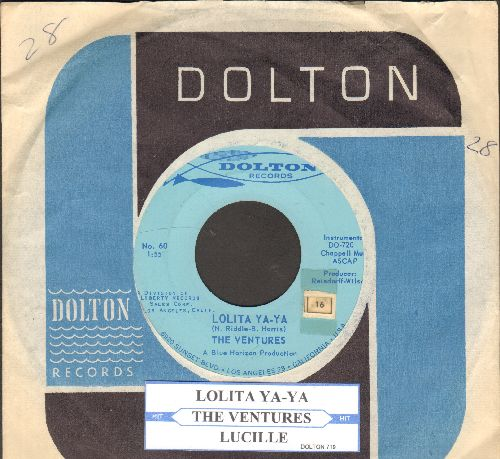 Ventures - Secret Agent Man/007-11 (with Dolton company sleeve) - VG7/ - 45 rpm Records
