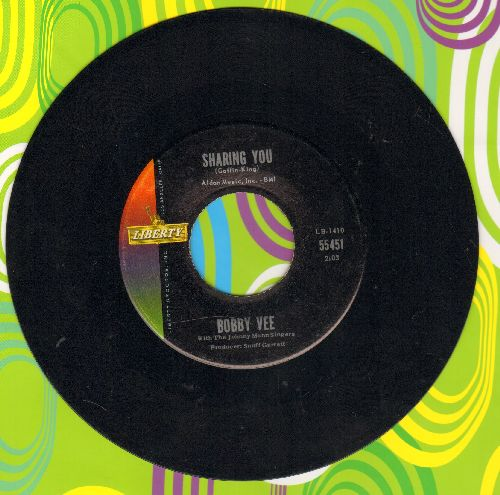 Vee, Bobby - Sharing You/In My Baby's Eyes - EX8/ - 45 rpm Records