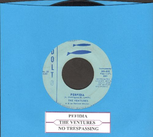 Ventures - Perfidia/No Trespassing (with juke box label) - EX8/ - 45 rpm Records