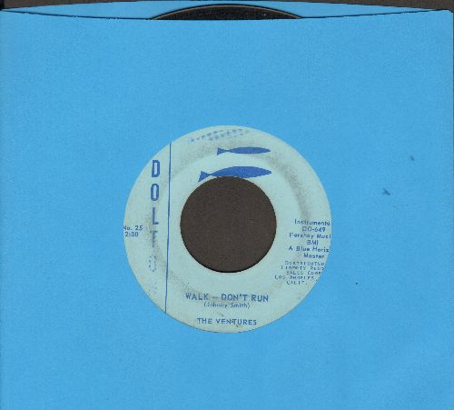 Ventures - Walk--Don't Run/Home (RARE alternate flip-side!) - VG7/ - 45 rpm Records