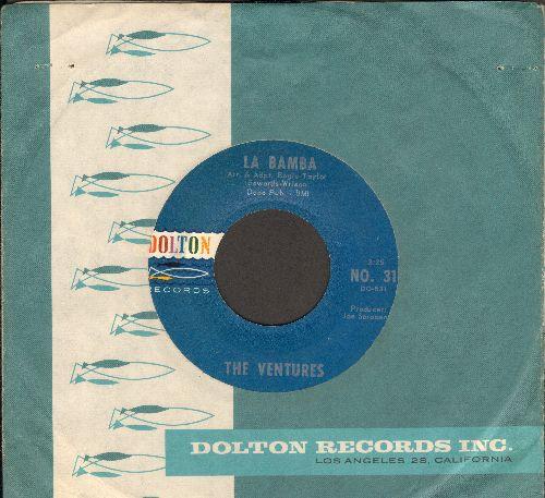 Ventures - La Bamba/Gemeni (with RARE Dolton company sleeve) - NM9/ - 45 rpm Records