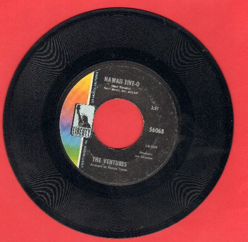 Ventures - Hawaii Five-O/Soul Breeze  - EX8/ - 45 rpm Records