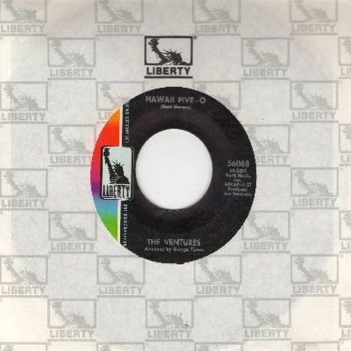 Ventures - Hawaii Five-O/Soul Breeze (with liberty company sleeve) - EX8/ - 45 rpm Records