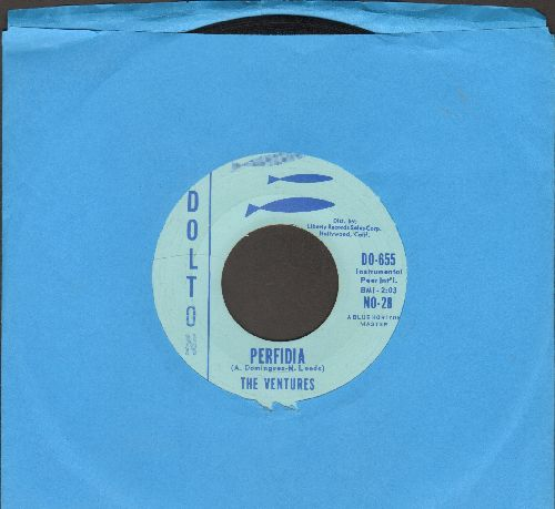 Ventures - Perfidia/No Trespassing  - EX8/ - 45 rpm Records