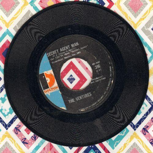 Ventures - Secret Agent Man/007-11  - VG7/ - 45 rpm Records