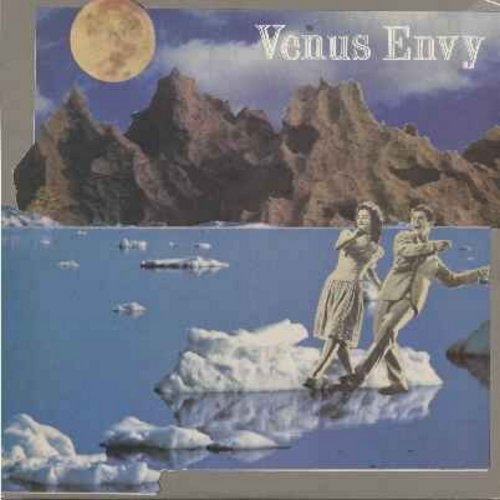 Venus Envy - Space Rock '85/Vapor Walk/Private Dick (12 inch vinyl 45rpm maxi single -- New Wave Instrumental, Original 1985 Release) - NM9/EX8 - Maxi Singles