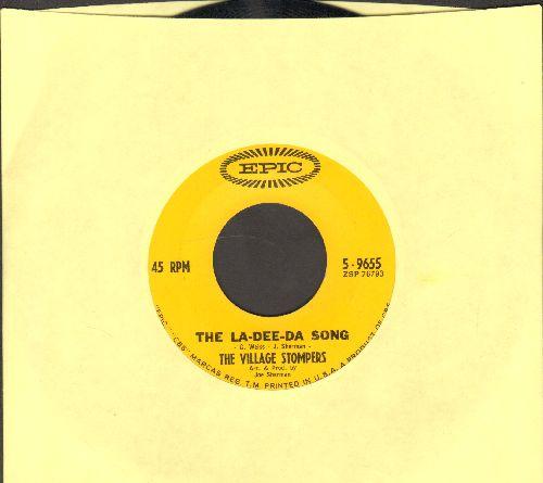 Village Stompers - The La-Dee-Da Song/Blue Grass  - NM9/NM9 - 45 rpm Records