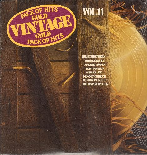 Isley Brothers, Shirelles, Wilson Pickett, others - Vintage Gold Pack Of Hits Vol.11: Twist & Shout, Baby It's You, A Million To One, Come Go With Me (vinyl LP record, re-issue of vintage rewcordings, SEALED, never opened!) - SEALED/SEALED - LP Records