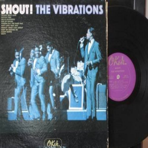 Vibrations - Shout!: Sloop Dance, Watusi Time, Misty, Talkin Bout Love (Vinyl MONO LP record) - VG6/VG7 - LP Records