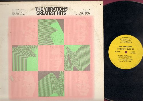 Vibrations - Greatest Hits: For Your Love, What's I Say/Shout, Sloop Dance, Watusi Time, Our Day Will Come, And I Love Her (Vinyl STEREO LP record) - NM9/VG7 - LP Records