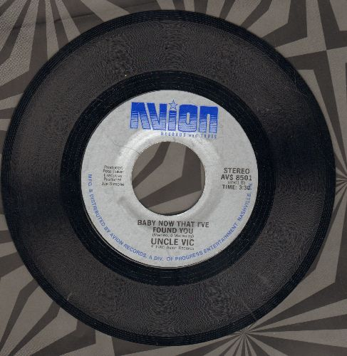 Uncle Vic - Erotic Suburbs/Baby, Now That I Found You - NM9/ - 45 rpm Records