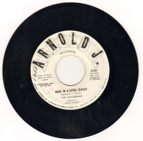 Victorians - Move A Little Closer/Lovin' (DJ advance pressing) - EX8/ - 45 rpm Records