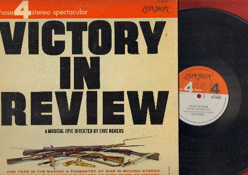 Rogers, Eric - Victory In Review - A Musical Epic directed by Eric Rogers (Vinyl STEREO LP record, gate-fold cover) - NM9/EX8 - LP Records