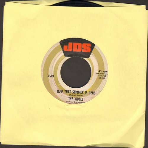 Videls - Now That Summer Is Here/She's Not Coming Home - VG7/ - 45 rpm Records