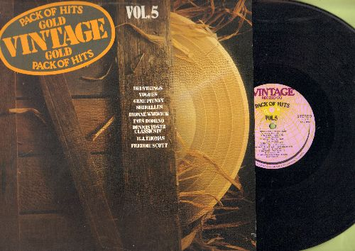 Del-Vikings, Vogues, Shirelles, others - Vintage Gold Vol. 5: Whispering Bells, Baby It's You, Blue Monday, Hooked On A Feeling (vinyl STEREOO LP record) - NM9/EX8 - LP Records