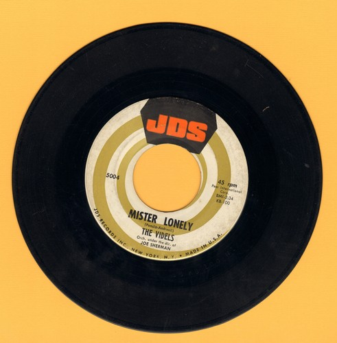 Videls - Mister Lonely/I'll Forget You  - EX8/ - 45 rpm Records