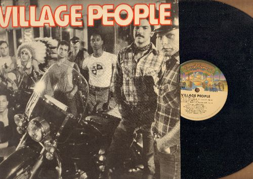 Village People - Village People: In Hollywood (Everybody Is A Star), San Francisco (You've Got Me), Fire Island, Village People (features extended Disco Versions of hits - Dance Club Favorite!) - NM9/NM9 - LP Records