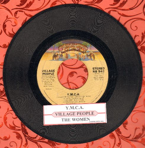 Village People - Y.M.C.A. (PARTY FAVORITE!)/The Women (with juke box label) - VG7/ - 45 rpm Records