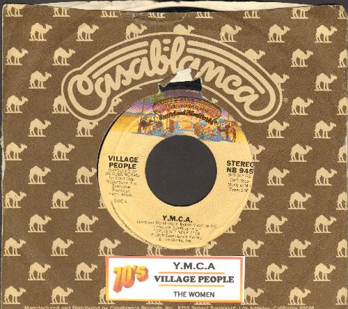 Village People - Y.M.C.A. (PARTY FAVORITE!)/The Women (with Casablanca company sleeve and juke box label) - EX8/ - 45 rpm Records