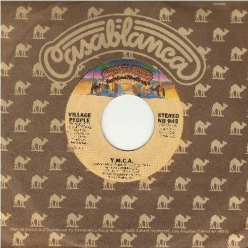 Village People - Y.M.C.A. (PARTY FAVORITE!)/The Women (with Casablanca company sleeve) - EX8/ - 45 rpm Records