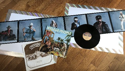 Village People - Go West: In The Navy, Citizens Of The World, I Wanna Shake Your Hand, Get Away Holiday, Manhattan Woman (Vinyl LP record with RARE Giant fold-out Poster!) - NM9/NM9 - LP Records