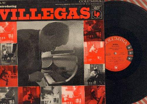 Villegas - Introducing Villegas: Ain't Misbehavin', Chopin Prelude, Lazy Bones, Embraceable You, Poor Butterfly (Vinyl MONO LP record, 1956 first pressing) - NM9/EX8 - LP Records